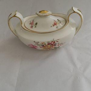 Vtg Royal Crown Derby Sugar Bowl